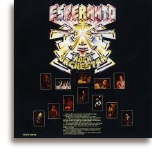 Esperanto Rock Orchestra - Back Cover